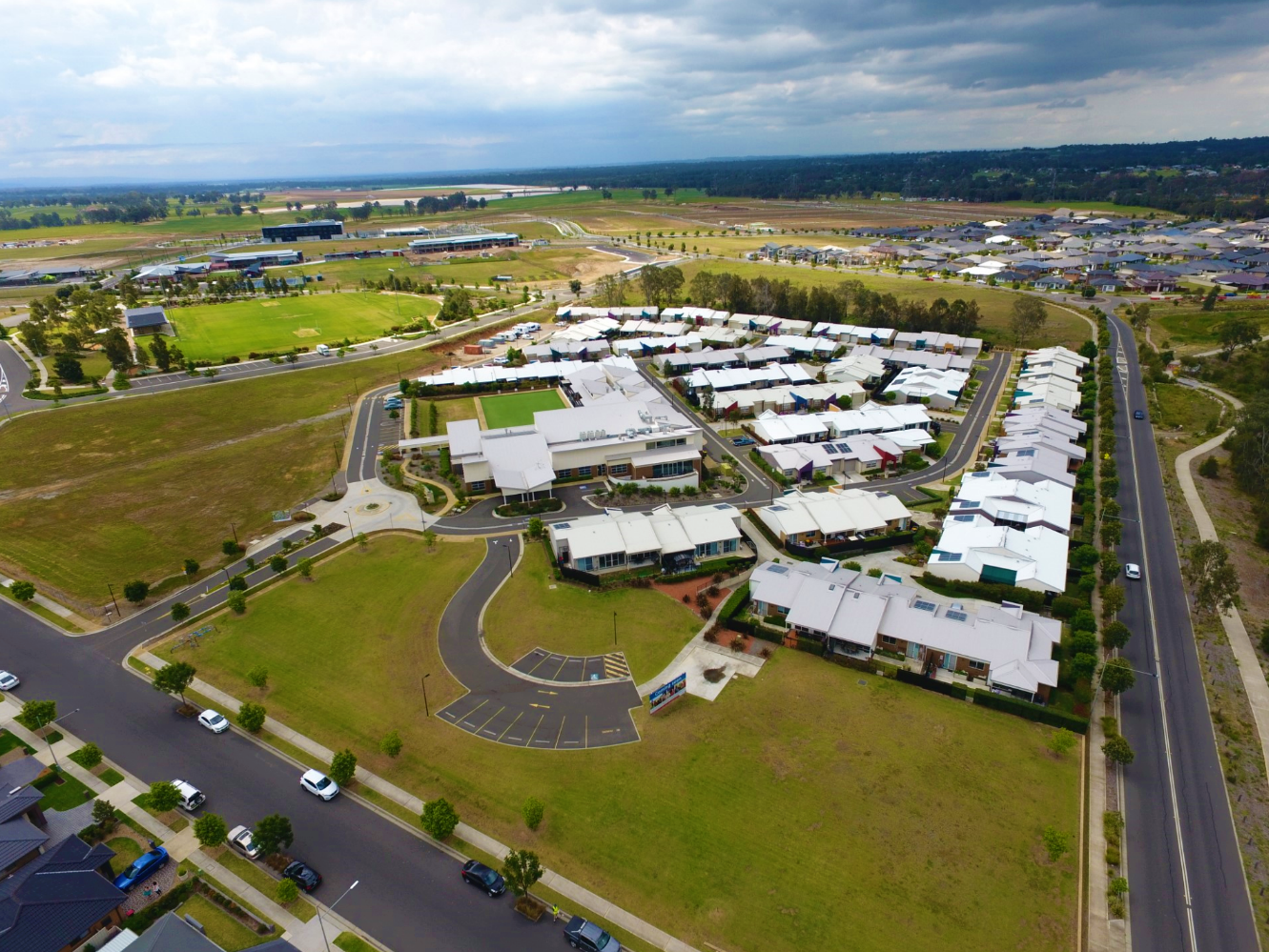 Anglicare Retirement Village Aerial