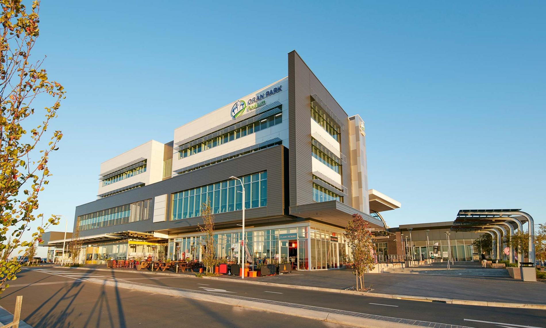 Oran Park Town Retail Commercial Feature