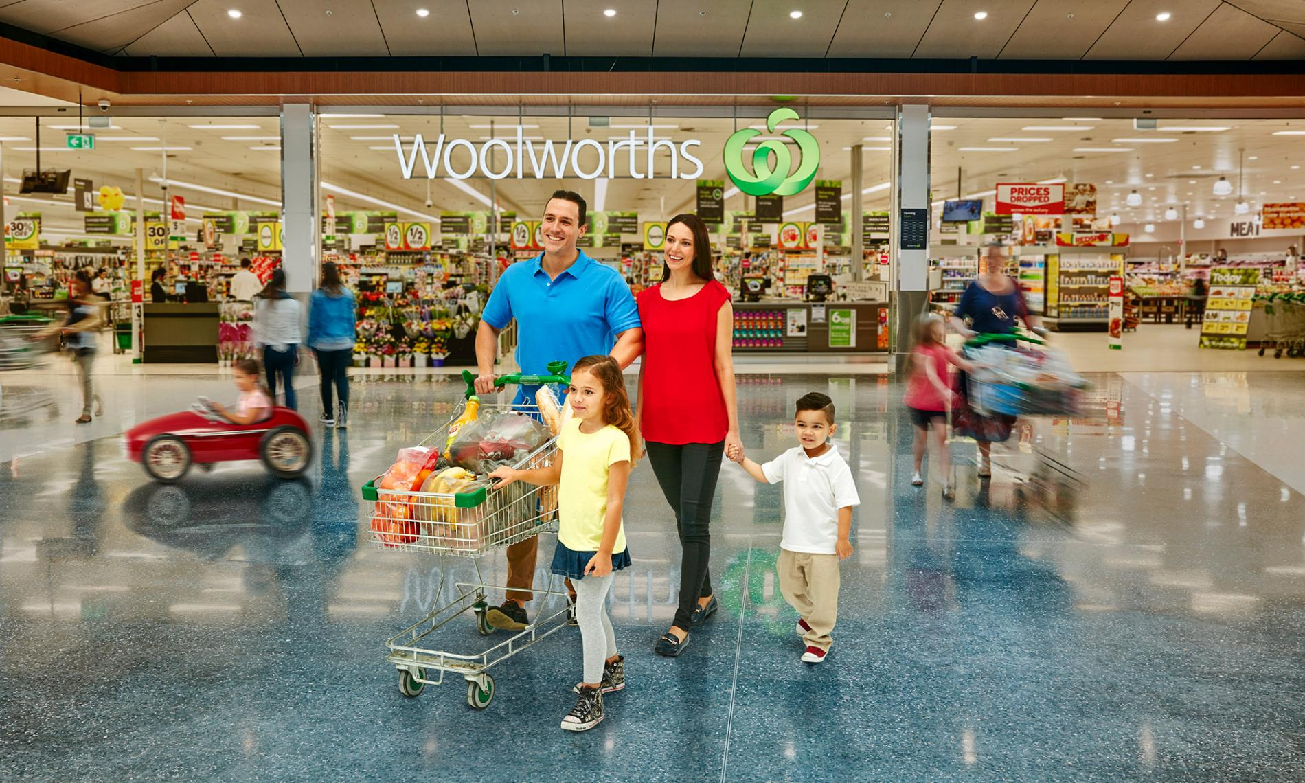 Why Oran Park Town Centre Woolworths Feature