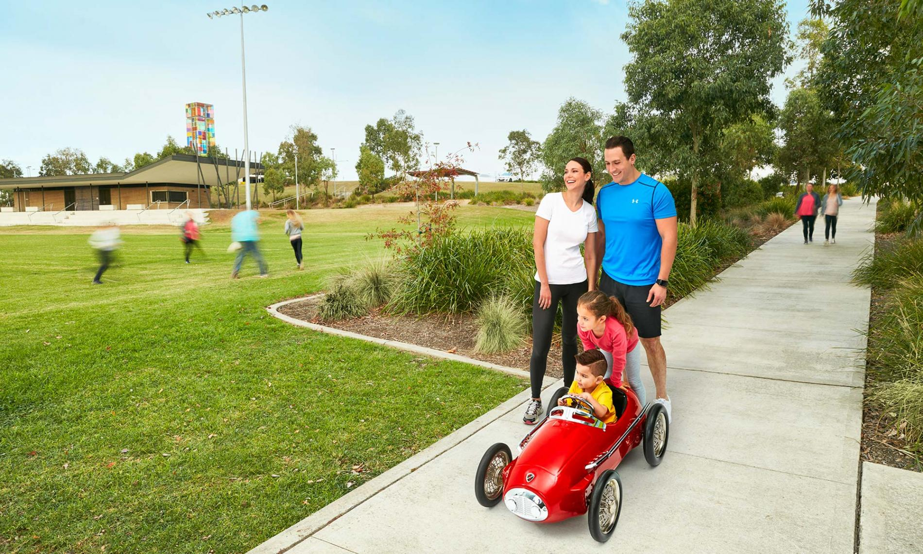 Why Oran Park Town Walking Paths Feature